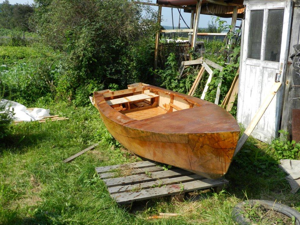 лодка кряква