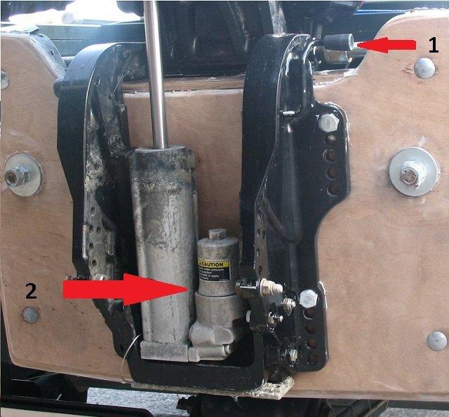 гидротрим для лодочного мотора купить