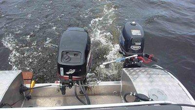 дополнительный транец на моторную лодку
