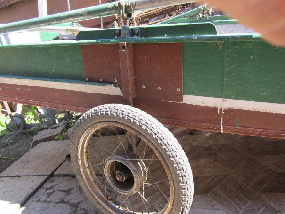 колеса для транспортировки лодки прогресс