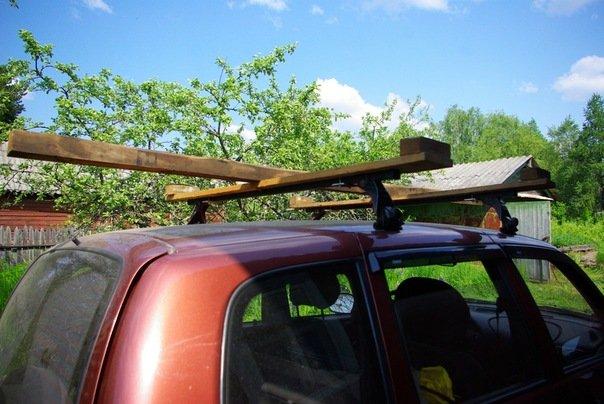 лодка на крыше автомобиля что это