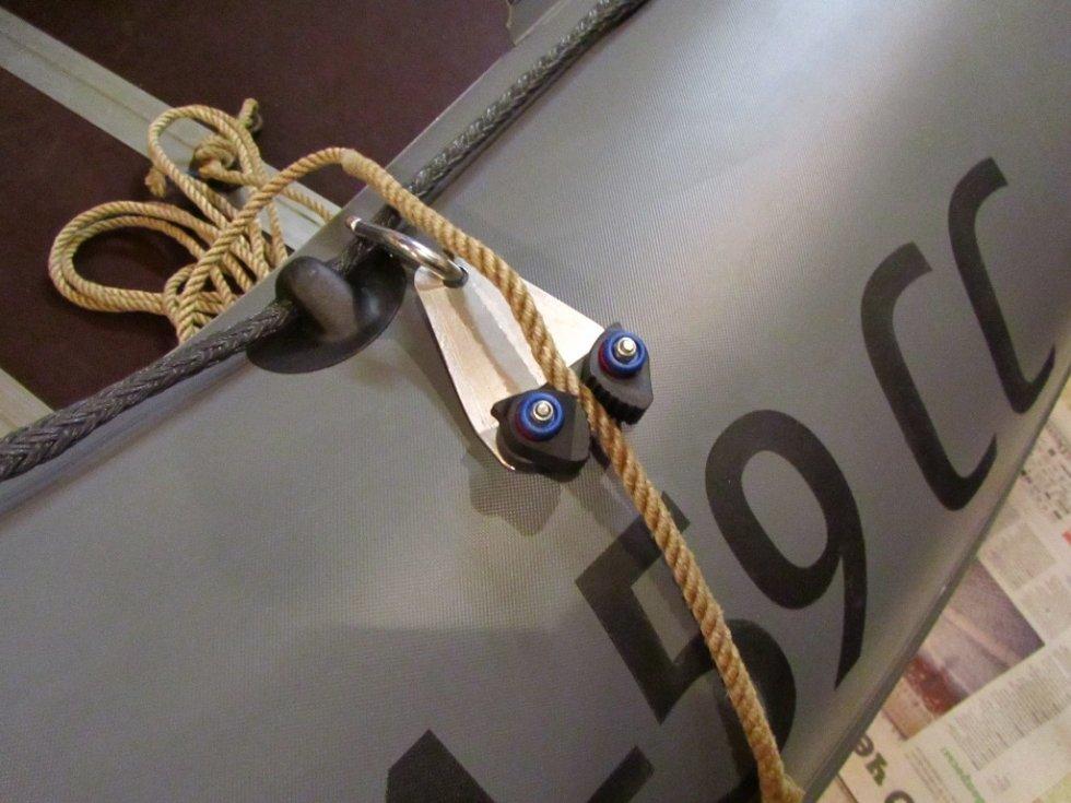 длина троса для якоря лодок