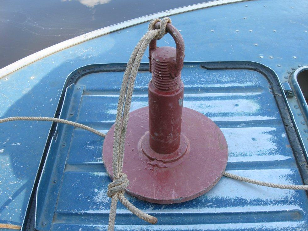 Якорь для лодки пвх своими руками