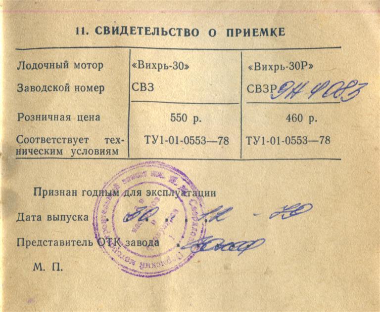 документы при постановке лодки на учет