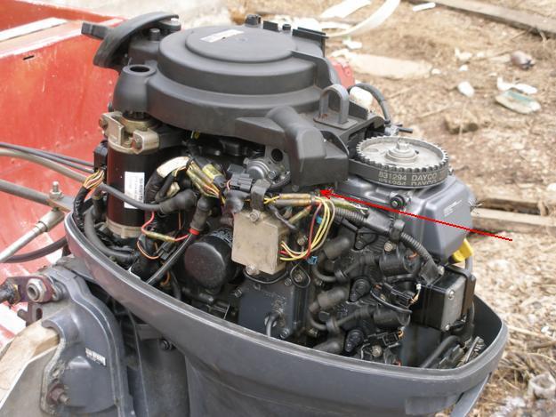 двигатель с оки в лодочном моторе