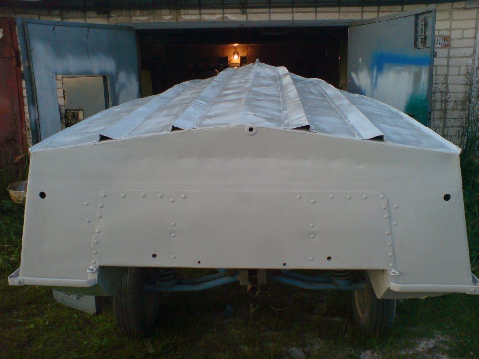 ремонт днища лодки