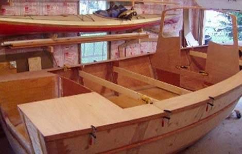 Как сделать лодку методом сшей и склей