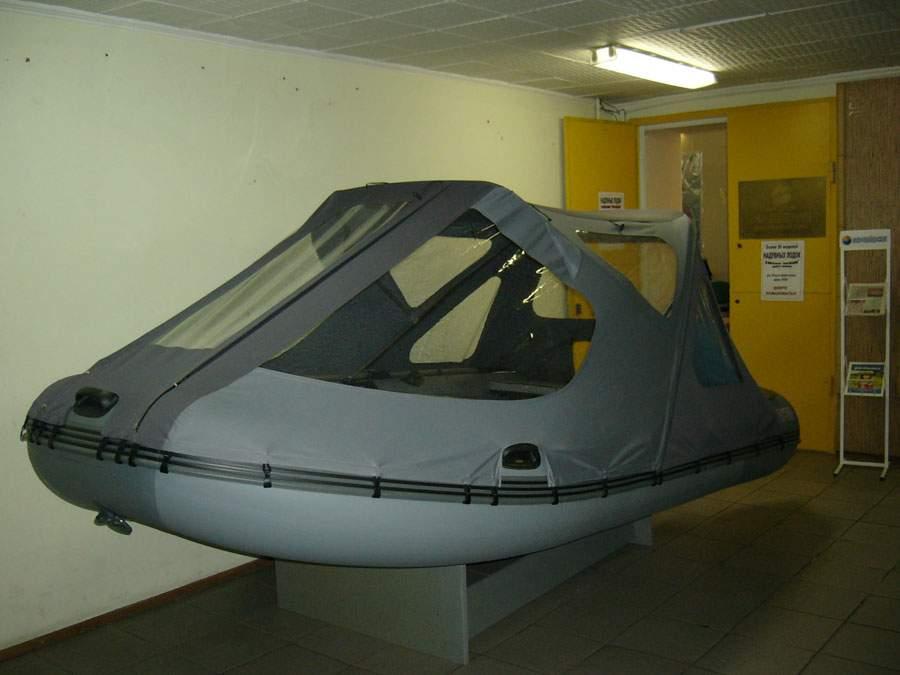 резиновые лодки с крышами