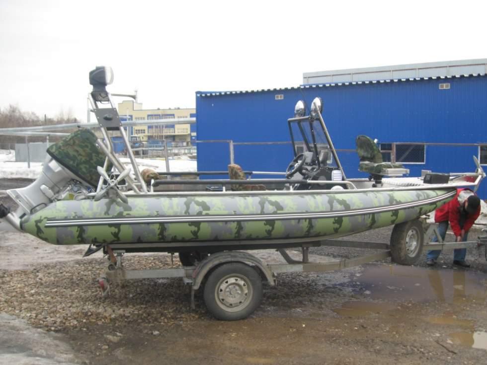 лодка от баллончика