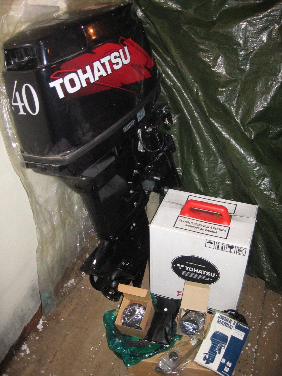 tohatsu m40d2 epos купить в москве