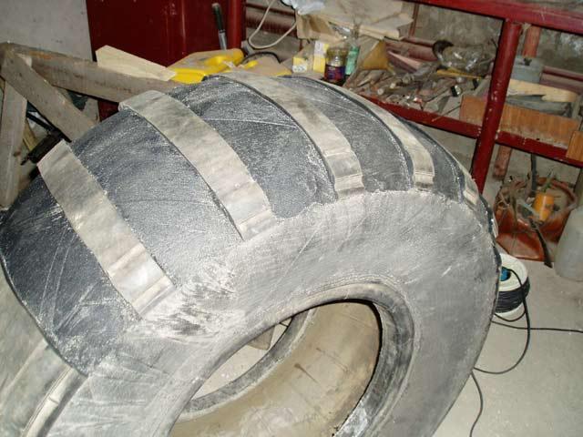 Изготовление колес своими руками