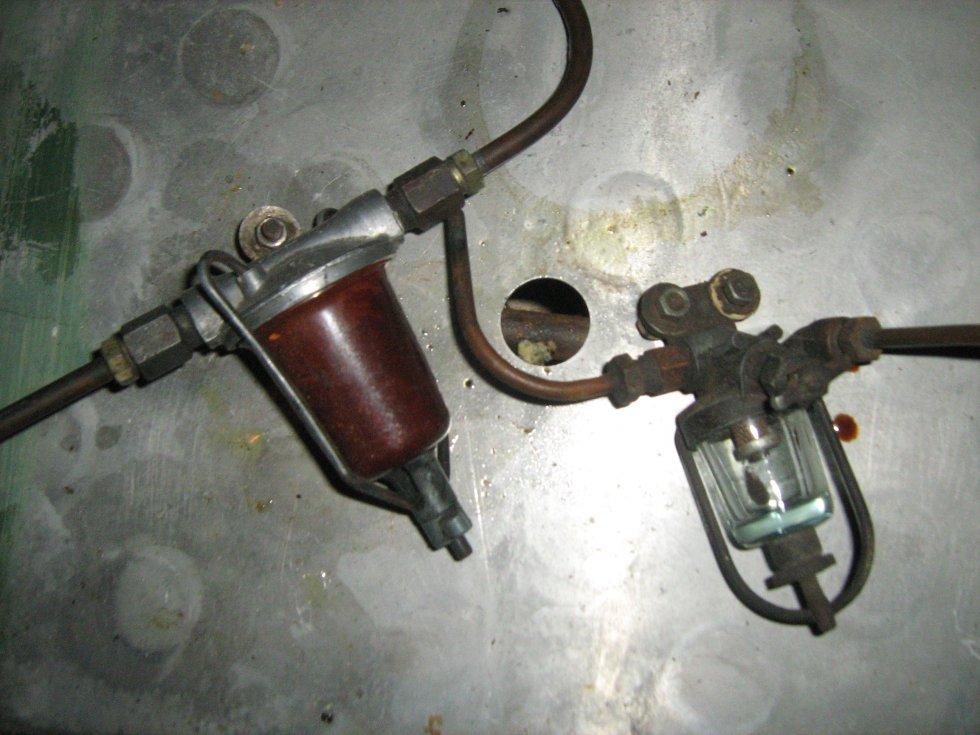 Дизельные сепараторы топлива своими руками 64