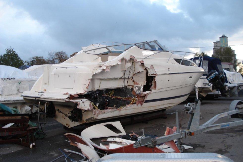 Ремонт корпуса лодки