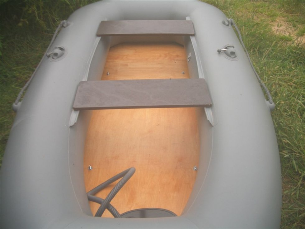 самодельные пайолы для лодки пвх