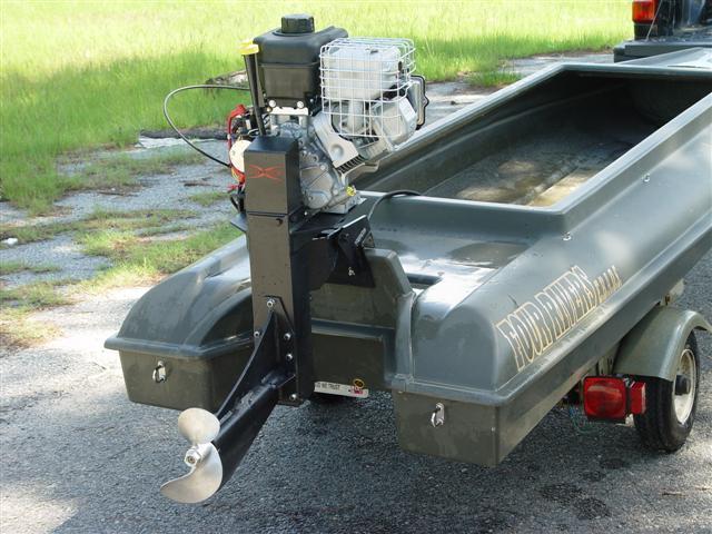 Установка двигателя лифан на лодку
