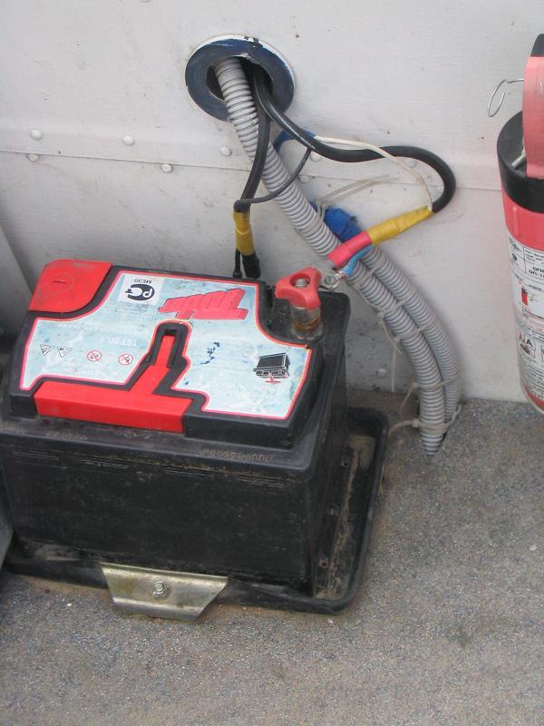 Аккумулятор для лодочного мотора своими руками 79