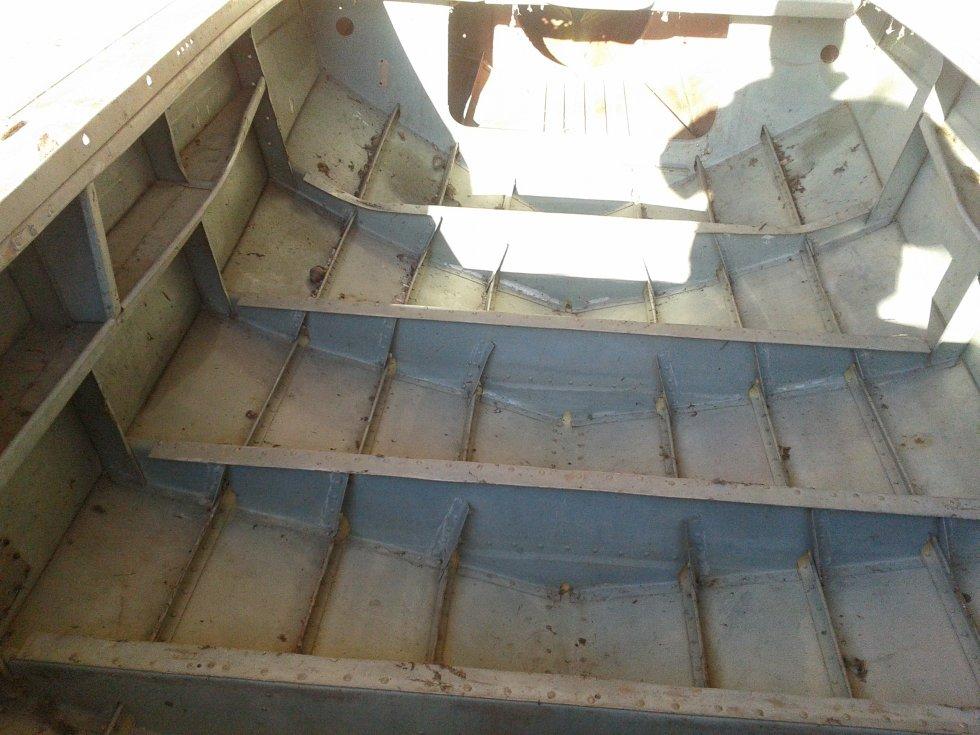 Смотрины подержанной лодки