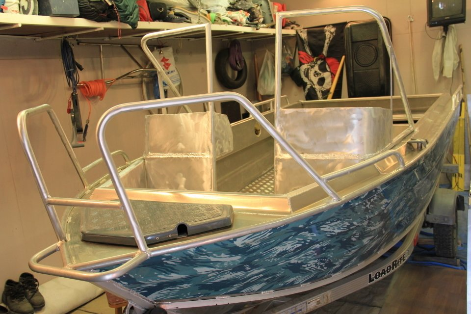 леера для лодки своими руками