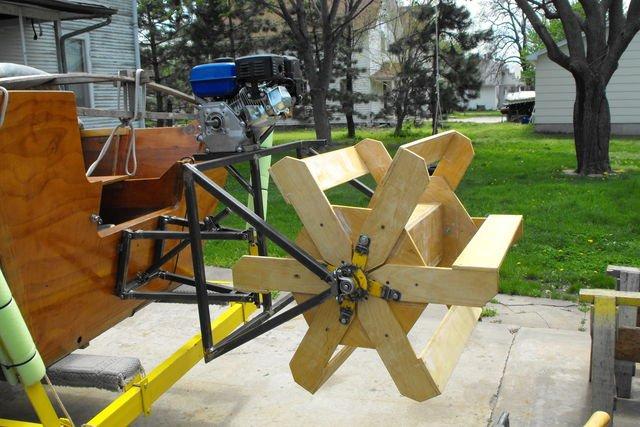 устройство водного велосипеда с гребным колесом добрым утром хорошим