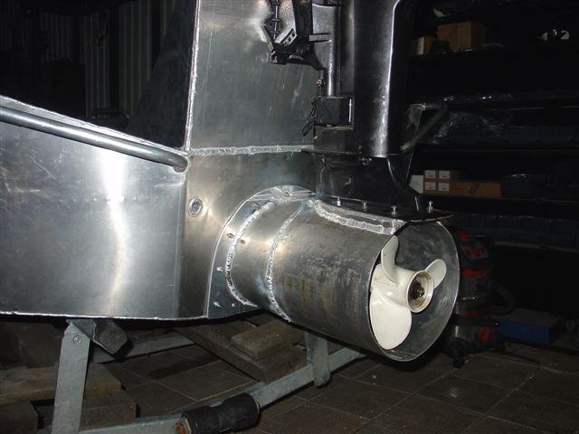 тоннель для винта в лодке