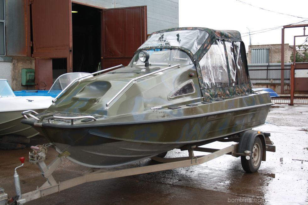 купить лодку с каютой в сургуте дром
