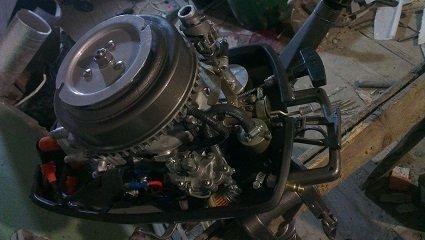 увеличение мощности мотора ветерок 8