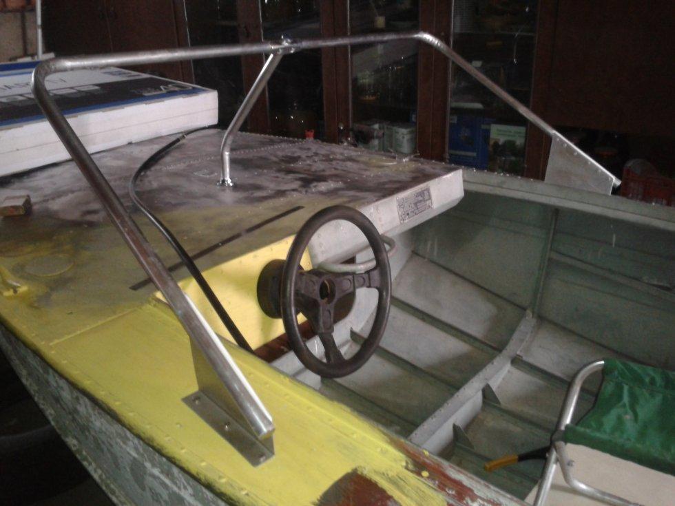 Дюралевой лодки своими руками