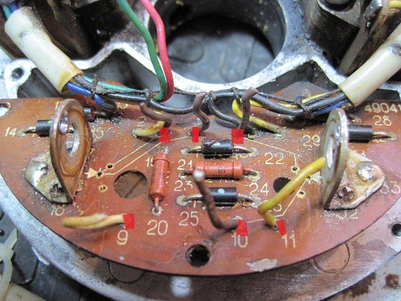 Электронное зажигание на мотор ветерок 12