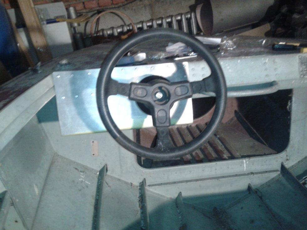 Рулевой редуктор на лодку пвх своими руками 4
