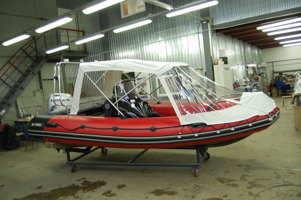 купить тент для лодки риб