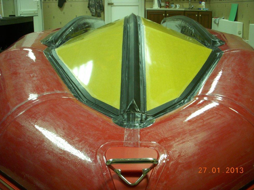 Пленка для бронирования ПВХ лодок