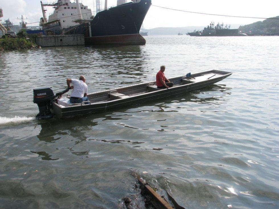 лодка для мелких рек своими руками