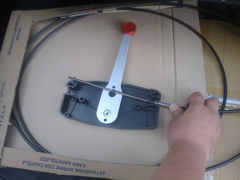 Дистанционное управление газ реверс лодочным мотором купить