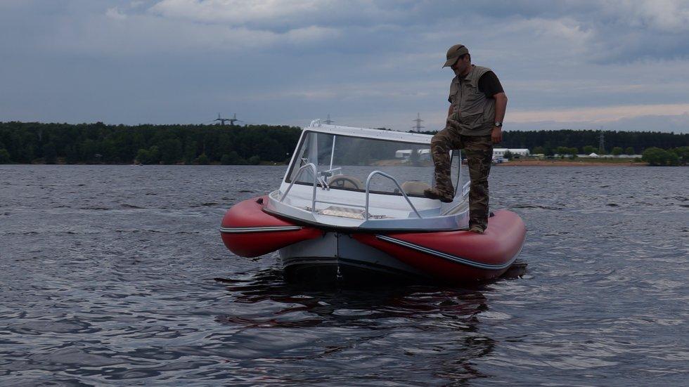 самые большие надувные борта лодки