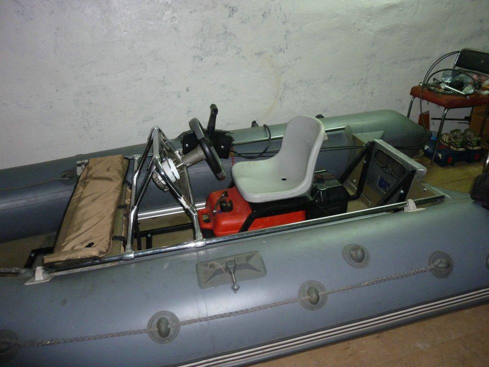 производство рулевых консолей для лодок