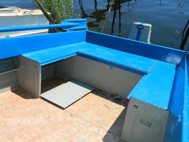 как сделать сиденье для лодки казанка