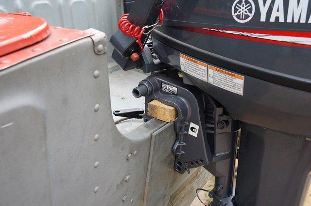 лодочный мотор на транце