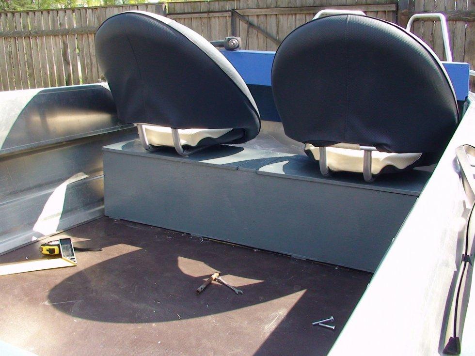 Носовой рундук в лодку пвх своими руками 585