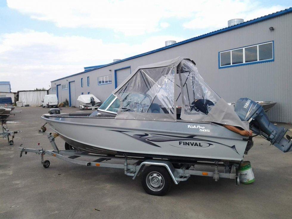 купить лодку финвал 505