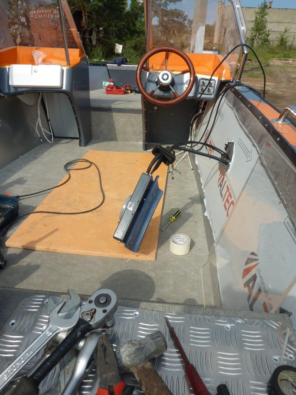 купить лодка spinningline моторная sl470