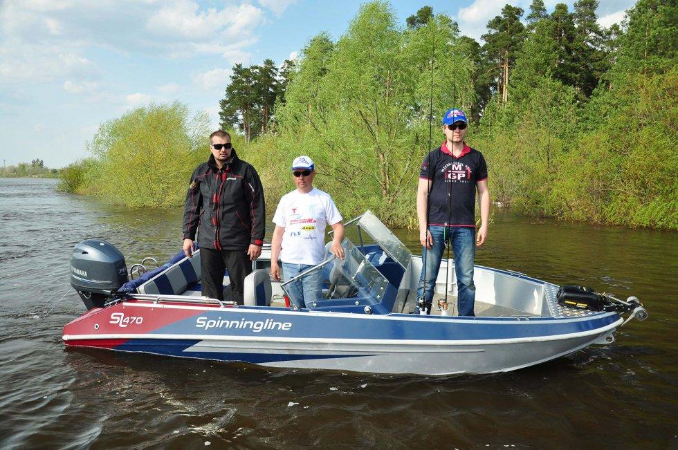 лодка спиннинглайн 470