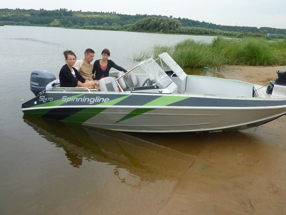 официальный сайт производителя лодки спининглайф