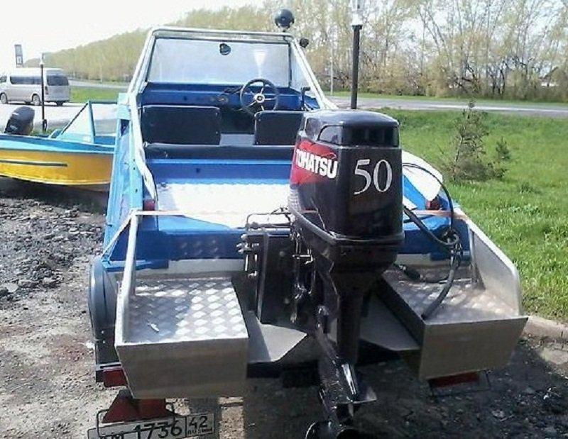 подвесной водомет на лодку крым