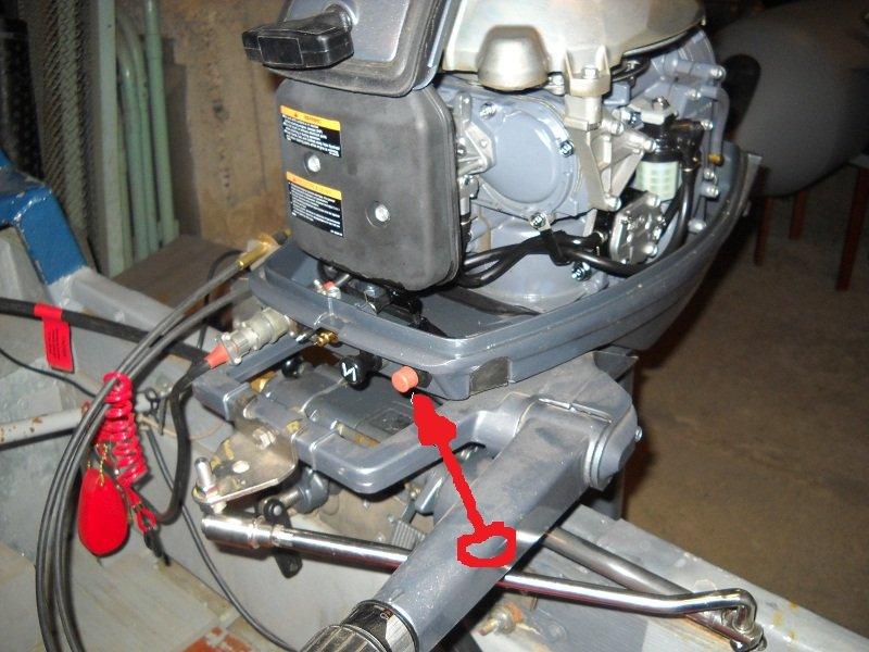 Как подключить лодочный мотор