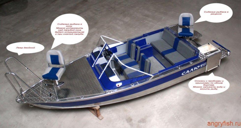 спиннинглайн лодка видео