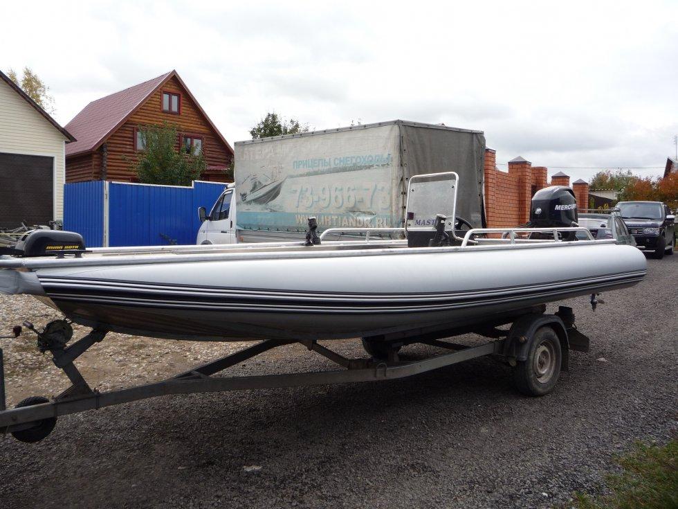 лодка мастер 550