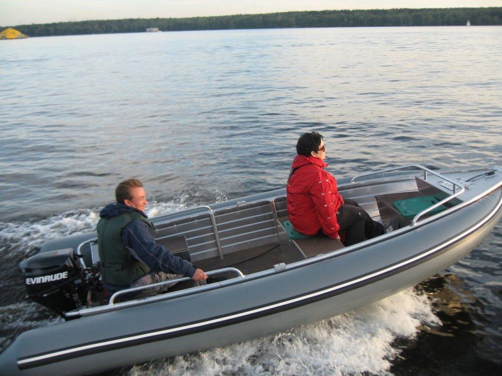 мотор урал на лодку