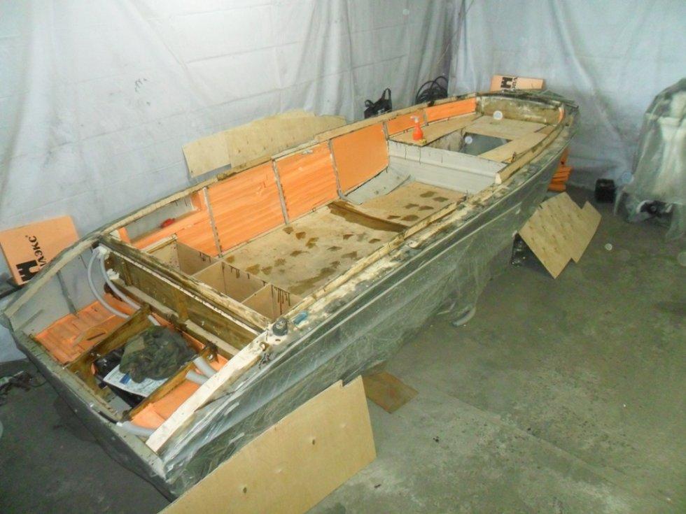 номер корпуса лодки