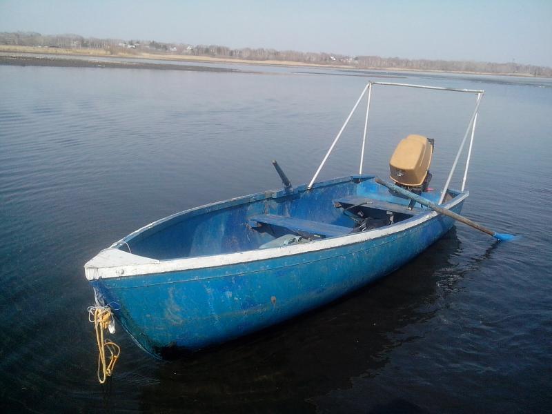 лодка под кефаль