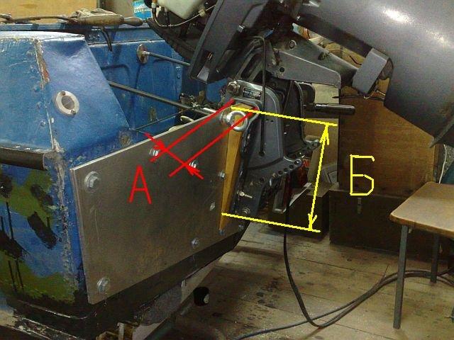 толщина транца для лодочного мотора